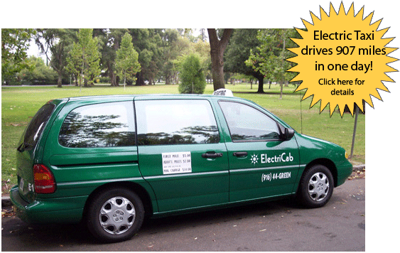 E1 - Battery Electric Taxi Cab